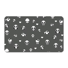 Panda Pattern Magnet (rectangular)