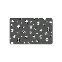 Panda Pattern Magnet (name Card)