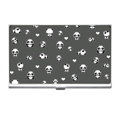 Panda Pattern Business Card Holders