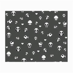 Panda Pattern Small Glasses Cloth (2 Side)