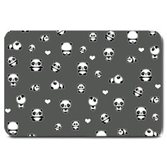 Panda Pattern Large Doormat
