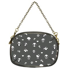 Panda Pattern Chain Purses (one Side)