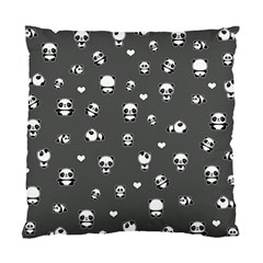 Panda Pattern Standard Cushion Case (one Side)