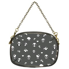 Panda Pattern Chain Purses (two Sides)