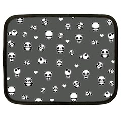 Panda Pattern Netbook Case (xl)