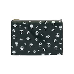 Panda Pattern Cosmetic Bag (medium)