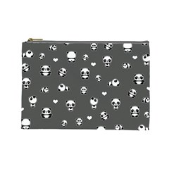 Panda Pattern Cosmetic Bag (large)