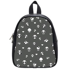 Panda Pattern School Bag (small)