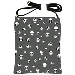 Panda Pattern Shoulder Sling Bags