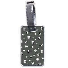 Panda Pattern Luggage Tags (one Side)