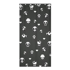 Panda Pattern Shower Curtain 36  X 72  (stall)