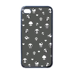 Panda Pattern Apple Iphone 4 Case (black)