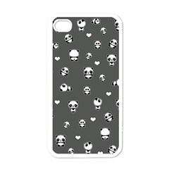 Panda Pattern Apple Iphone 4 Case (white)