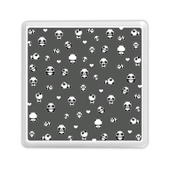 Panda Pattern Memory Card Reader (square)