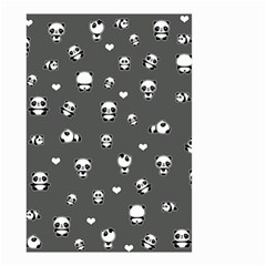 Panda Pattern Small Garden Flag (two Sides)