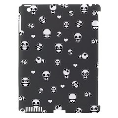 Panda Pattern Apple Ipad 3/4 Hardshell Case (compatible With Smart Cover)