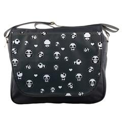 Panda Pattern Messenger Bags