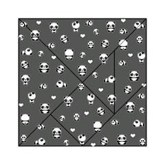 Panda Pattern Acrylic Tangram Puzzle (6  X 6 )