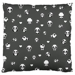 Panda Pattern Large Cushion Case (one Side)