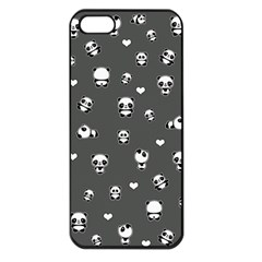 Panda Pattern Apple Iphone 5 Seamless Case (black)