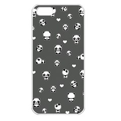 Panda Pattern Apple Iphone 5 Seamless Case (white)