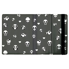 Panda Pattern Apple Ipad 2 Flip Case