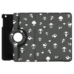 Panda Pattern Apple Ipad Mini Flip 360 Case