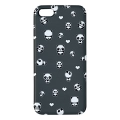 Panda Pattern Apple Iphone 5 Premium Hardshell Case