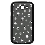 Panda pattern Samsung Galaxy Grand DUOS I9082 Case (Black) Front