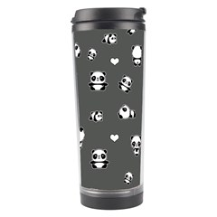 Panda Pattern Travel Tumbler