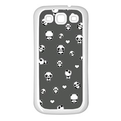 Panda Pattern Samsung Galaxy S3 Back Case (white)