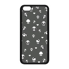 Panda Pattern Apple Iphone 5c Seamless Case (black)