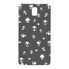 Panda Pattern Samsung Galaxy Note 3 N9005 Hardshell Back Case