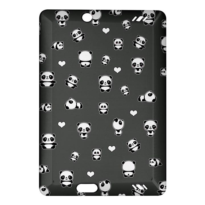 Panda pattern Amazon Kindle Fire HD (2013) Hardshell Case