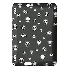 Panda Pattern Kindle Fire Hdx Hardshell Case