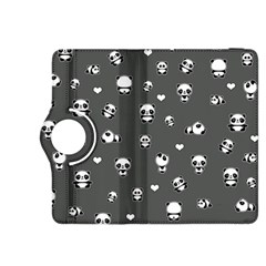 Panda Pattern Kindle Fire Hdx 8 9  Flip 360 Case