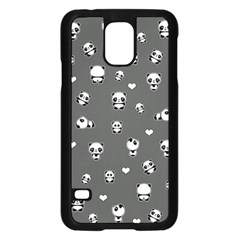 Panda Pattern Samsung Galaxy S5 Case (black)