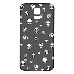 Panda Pattern Samsung Galaxy S5 Back Case (white)