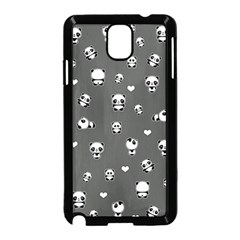 Panda Pattern Samsung Galaxy Note 3 Neo Hardshell Case (black)