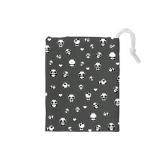 Panda Pattern Drawstring Pouches (small)