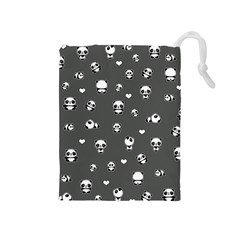 Panda Pattern Drawstring Pouches (medium)