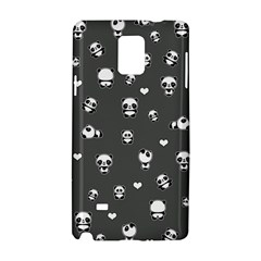 Panda Pattern Samsung Galaxy Note 4 Hardshell Case