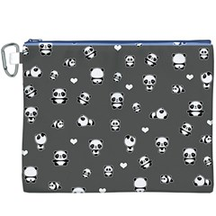 Panda Pattern Canvas Cosmetic Bag (xxxl)
