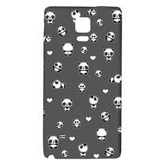 Panda Pattern Galaxy Note 4 Back Case