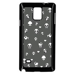 Panda Pattern Samsung Galaxy Note 4 Case (black)