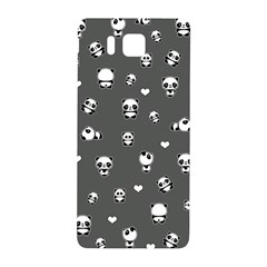 Panda Pattern Samsung Galaxy Alpha Hardshell Back Case