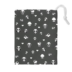 Panda Pattern Drawstring Pouches (extra Large)