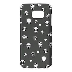 Panda Pattern Samsung Galaxy S7 Edge Hardshell Case