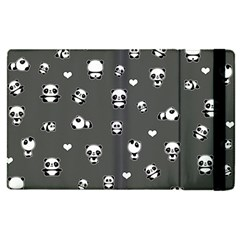 Panda Pattern Apple Ipad Pro 12 9   Flip Case