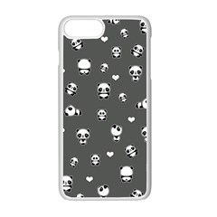 Panda Pattern Apple Iphone 7 Plus Seamless Case (white)